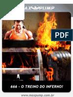 Revista Max Pump - 666 O Treino Do Inferno
