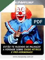 Revista Max Pump - Oxido Nitrico e Pro-Hormonais
