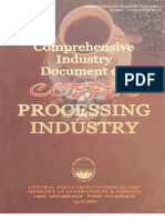 Comprehensive Industry Document on Coffee Processing Industry