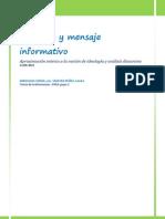 Ideologia y Mensaje Informativo