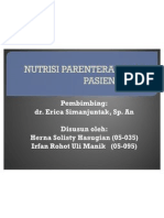Nutrisi Parenteral -Presentation
