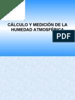 Calculo de humedad Con Psicrometrico