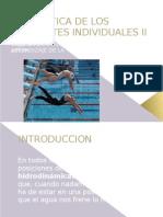 Didadtica de Los Deportes Individuales II Unidad 3
