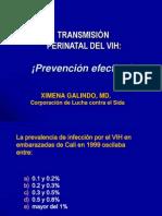 Transmision Vertical VIH