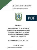 Py - Implementacion de Un Sistema de Control de Acceso y cia de Recursos Humanos - RFID