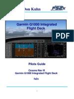 Fs2x G1000 Pilots Guide