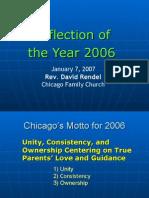 Chicago Report 2007 Presentation