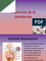 Trastornos de la Ventilación