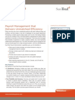 SumTotal Payroll Administration Software
