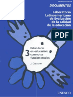 Est and Ares de Educacion Unesco