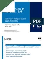 Administ Proyecto SAP