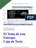 Caja  de Texto en RPGLE/Iseries