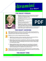 Candidate Fliers
