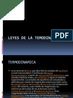 Leyes de La Temodinamica