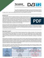 DVB-T2 Fact Sheet