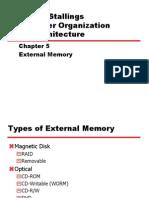 5. External Memory