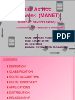 Mobile Ad Hoc Network (MANET) by Himansu