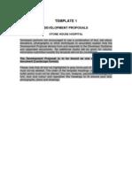 Template 1 Development Proposal