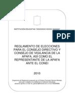 Reglamento para Elecciones de APAFA