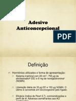 Adesivo anticoncepcional
