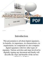 About Digital Signatures