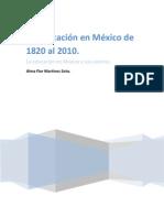 Alma Flor Martinez Soto Desarrollo Historico de La Educacion en Mexico