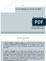 CBE Finance- Complexity in Investing in Stock Market