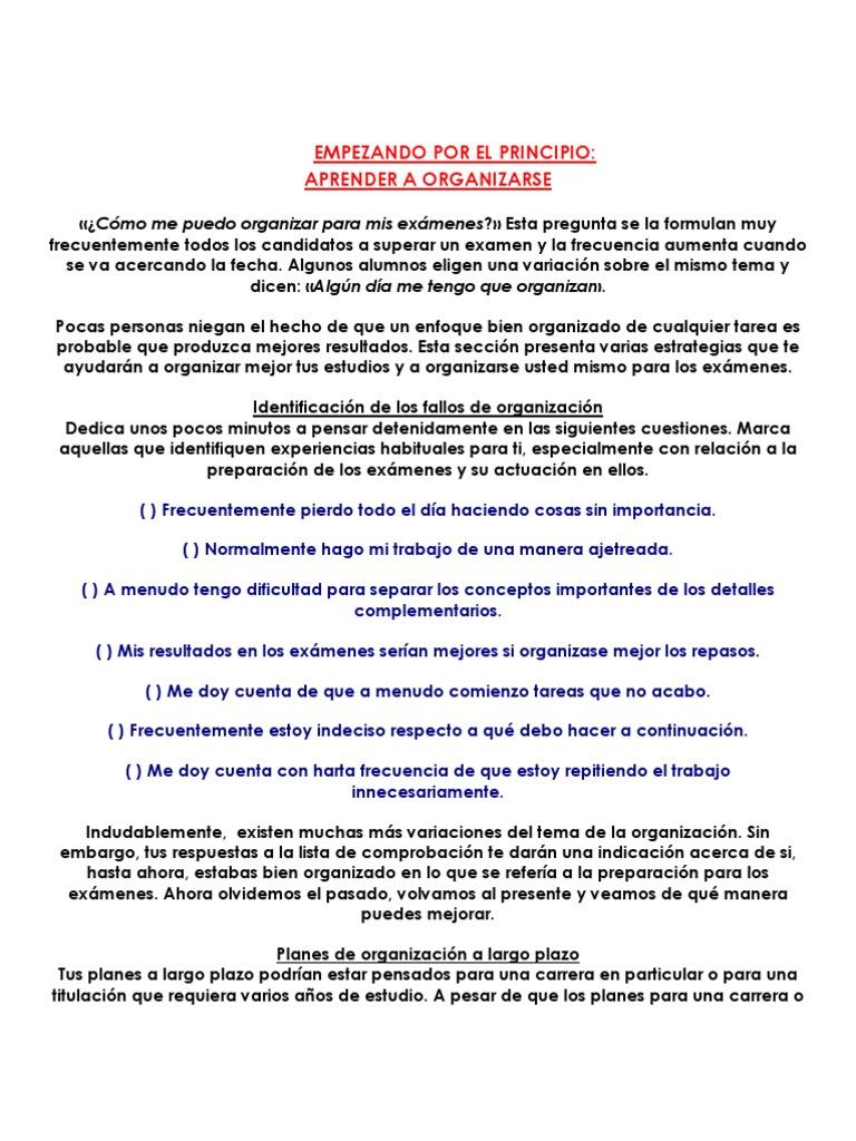 c2500e06d7c31 Como Estudiiar Para Un Examen!!!