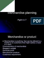 Merchendise Planning