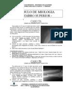 EDVII - módulo de Miologia Do Membro Superior