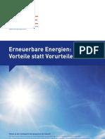 Broschuere Erneuerbare Energien Aee Dt