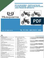 Husqvarna TE TC SM 570 R 2002 Parts List Www.manualedereparatie