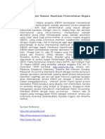 Analisa Kondisi Standar Akuntansi Pemerintahan Negara Asean