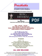 Launch of the book 'BEING DIFFERENT' by Rajiv Malhotra on 21st Nov, 2011; 5.00PM - 7.45 PM