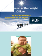 Overweight Mngmt Pediatric