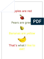 Apples Are Red r