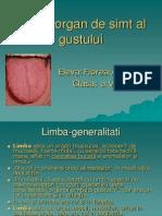 Limba-Organ de Simt Al Gustului