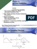 Chap11--Sampling & Pulse Modulation
