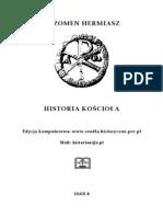Sozomen Hermiasz - Historia Kościoła