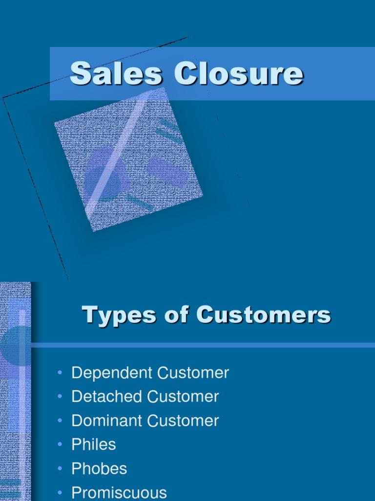sales closure