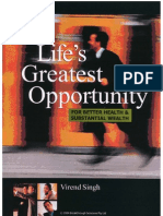 Lifes Greatest Opportunity Report