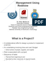 Project Management Using Redmine
