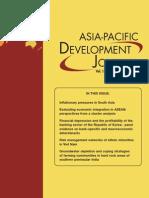 Asian Pacific Development Joural