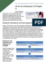 Vorgehensmodell für ein Enterprise 2.0-Projekt