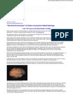 Strahlenfolter - Deprogrammierung gegen Selbst-Sabotage - Wernicke-Korrektur