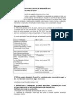 2012 the Conteudo Programatico THE2012