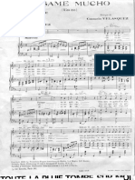 Besame Mucho (Pianoforte E Voce)