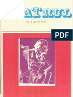 Revista Teatrul, nr. 4, anul XV, martie 1970