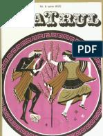 Revista Teatrul, nr. 6, anul XV, iunie 1970