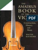 Walter Kolneder, The Amadeus Book of the Violin